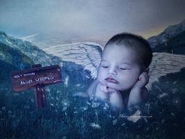 Angel Sleeping by maiarcita