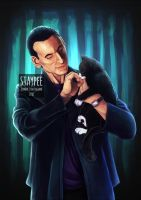 9th Doctor by staypee