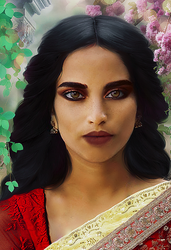 Indian Princess by IrisFerrara