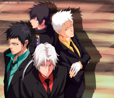 KHR - Guardians the Vongola - Future (collab) by Adriano-Arts
