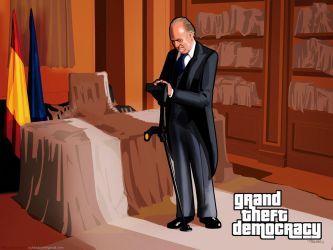 Grand Theft Democracy Juan Carlos I by Loctary