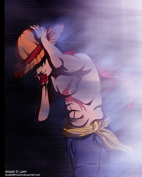 Monkey D. Luffy - I Am The Winner by Ric9Duran