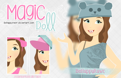Magic Doll BHR by iBeHappyRawr