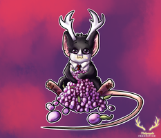 Vividia and his plums ! by Melymphe