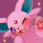 Wink! - Espeon by SeviYummy