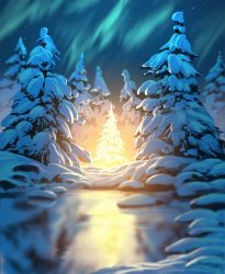 Light of the forest by arcipello