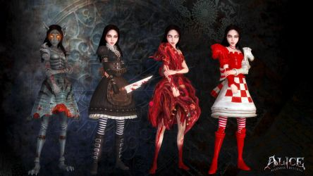Madness Returns Costumes - II by Gelvuun
