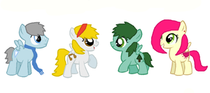 Foal Adoptables 2 (Closed) by PerkyPitch