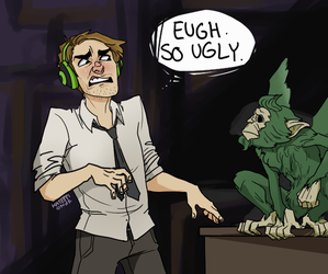 THE WOLF AMONG US by saltmatey