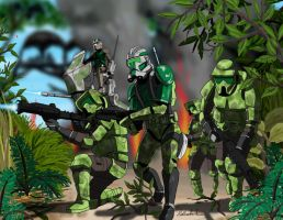 Commander Gree n 41st by axemeagain