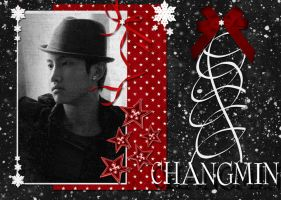 Christmas ChangMin by s2Faye