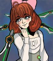 Penny Redraw: Combat Ready by OdeToGrapes