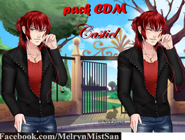 Mini Pack Cdm Castiel by WeenyLegia