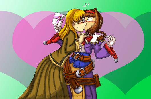 Wild Arms 3 Fanart-Smooch by Inkblot-Rabbit
