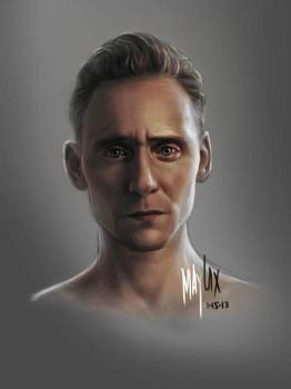 Tom Hiddleston Color by may13lax