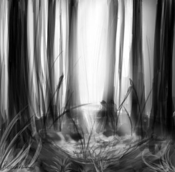 Forest loneliness by Killstin
