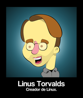 Linus Torvalds by le-numeritos