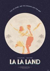 City of Stars - La La Land Poster by edwardjmoran