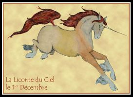 La Licorne du Ciel by ChocoboGoddess