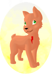 Thunderpaw Doodle by krxterme