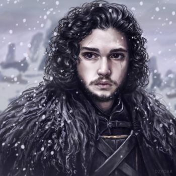 Jon Snow by Dzydar