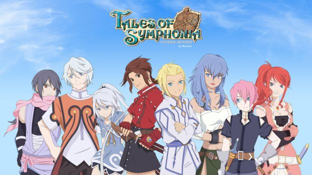 Tales of Symphonia | Gender-bender by CupcakeAmande