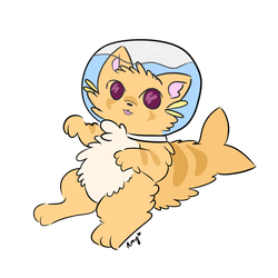 Kitty fish ''request'' by AmyKoopa