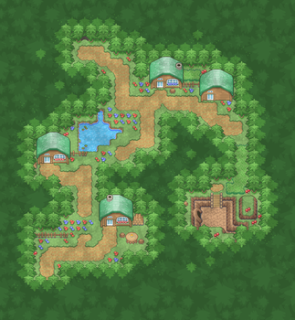 Woodsy Village by Magiscarf