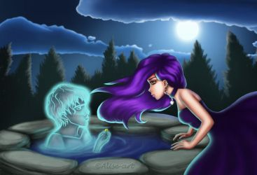 The Wishing Well Genie by Alise-Art