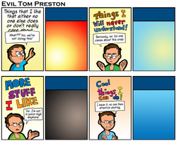 Evil Tom Preston - Things NoOne Never Stuff Can Do by eviltomp