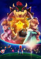 10 years ago -Super Mario Galaxy by LC-Holy