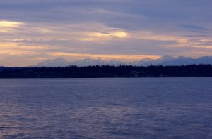 Sunset on the sound by avatare