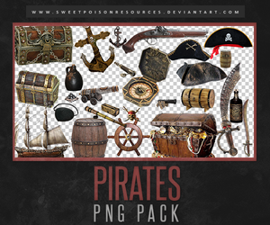 Pirates Png Pack by sweetpoisonresources