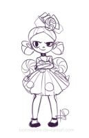 Candy dress sketch by bonnieefire