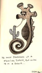 Sea Horse Fantasy by whataswellbowtie