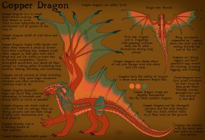 Copper Dragon Reference Sheet by chaosinvert