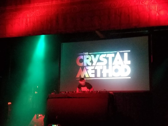 The Crystal Method live in Philly by ATwistintheMyth