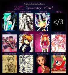 Summary of art 2015 by AngelLinx3
