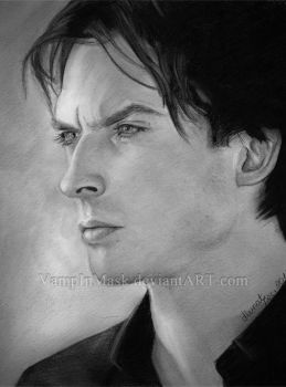 Ian Somerhalder by VampInMask