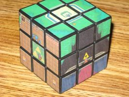 Link to the Past Cube pic 2 by Kricket1385