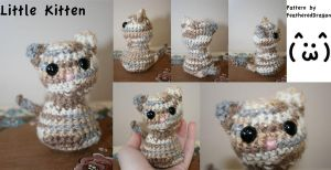 Crochet Little Kitten by FeatheredDragon