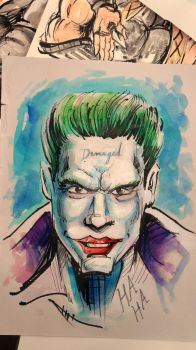 Jared Leto Joker Suicide Squad by Noumier