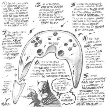 The old PS3 controller by AdamWarren