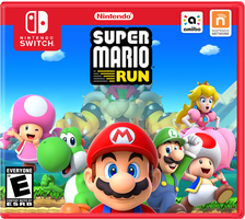 [Design - Nintendo Switch] Super Mario Run by CamAidan