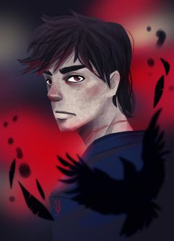 Prince of Ravens by SerenaR-art