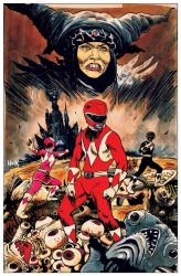 Mighty Morphin Power Rangers Artist Tribute book  by RobertHack