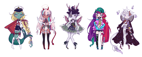 [OPEN] Spiritus Oris Guest Adopts by Chaine-x