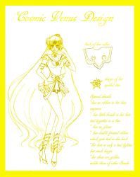 Cosmic Venus Design Sketch by silver-eyes-blue