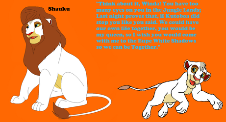 Shauku- The King-Tyrant of the White by chassb