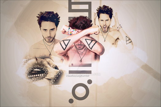 Jared Leto wall by dia-m